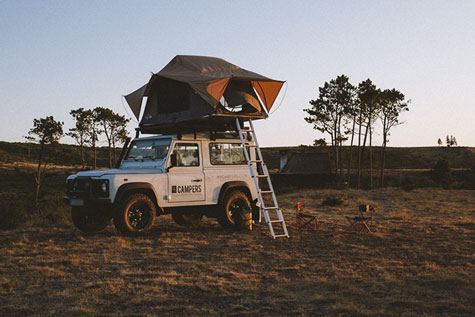 Toyota Landcruiser camper for Rent