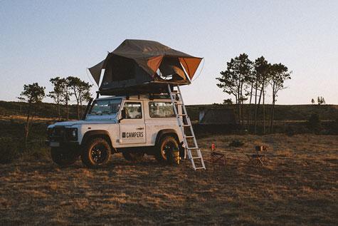 Toyota Landcruiser camper for Rent